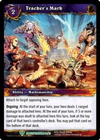 warcraft tcg battle of aspects tracker s mark