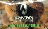 star trek 1e star trek 1e sealed product the trouble with tribbles booster box