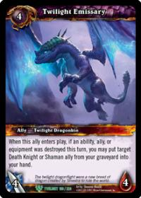 warcraft tcg twilight of the dragons twilight emissary