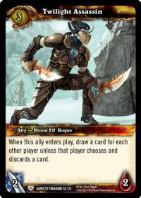 warcraft tcg battle of aspects twilight assassin