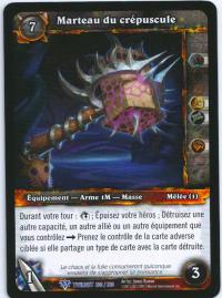 warcraft tcg twilight of dragons foreign twilight s hammer french