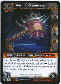 warcraft tcg twilight of dragons foreign twilight s hammer spanish