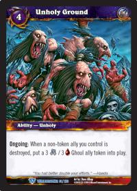 warcraft tcg worldbreaker unholy ground