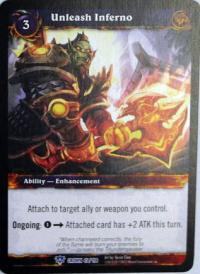 warcraft tcg crown of the heavens unleash inferno