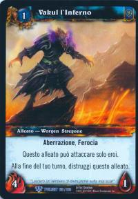 warcraft tcg twilight of dragons foreign vakus the inferno italian