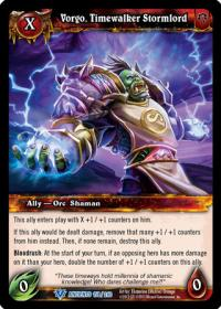 warcraft tcg war of the ancients vorgo timewalker stormlord