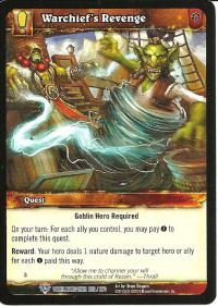 warcraft tcg worldbreaker warchief s revenge