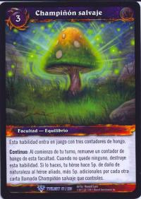 warcraft tcg twilight of dragons foreign wild mushroom spanish