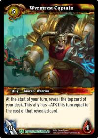 warcraft tcg battle of aspects wyrmrest captain