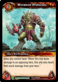 warcraft tcg battle of aspects wyrmrest protector
