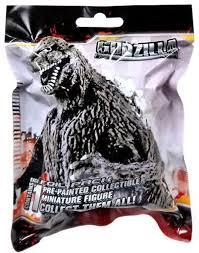 collectibles godzilla movie mini figures series 1 godzilla miniature blind bag series 1