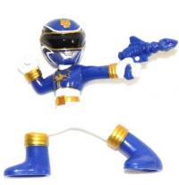 collectibles power rangers megaforce series 2 blue megaforce ranger p 131