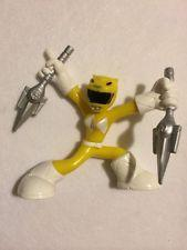 collectibles power rangers megaforce series 2 yellow mighty morphin ranger p 122