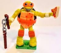 collectibles tnmt mega bloks series 1 michelangelo