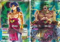 dragonball super card game bt1 galactic battle broly the legendary super saiyan bt1 057 r