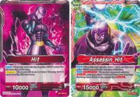 dragonball super card game bt1 galactic battle assassin hit bt1 003 uc