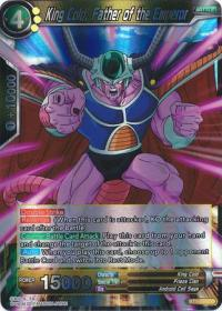 dragonball super card game bt1 galactic battle king cold father of the emperor bt1 091 r