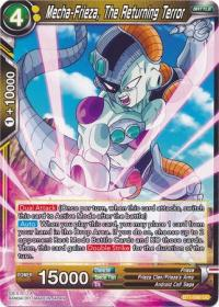 dragonball super card game bt1 galactic battle mecha frieza the returning terror bt1 090 uc