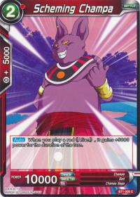 dragonball super card game bt1 galactic battle scheming champa bt1 006 c