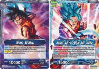 dragonball super card game bt1 galactic battle super saiyan blue son goku bt1 030 uc