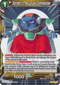 dragonball super card game bt1 galactic battle sorbet the loyal commander bt1 092 uc