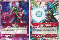 dragonball super card game bt1 galactic battle aide vados bt1 002 uc
