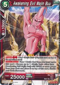 dragonball super card game bt2 union force awakening evil majin buu bt2 027 uc