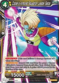 dragonball super card game bt2 union force cooler s armored squadron leader salza bt2 115 uc