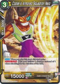 dragonball super card game bt2 union force cooler s armored squadron neiz bt2 117 c