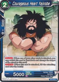 dragonball super card game bt2 union force courageous heart yajirobe bt2 052 c