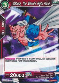 dragonball super card game bt2 union force dabura the wizard s right hand bt2 023 uc