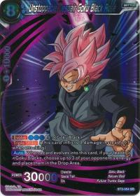 dragonball super card game bt2 union force unstoppable despair goku black rose bt2 054 sr