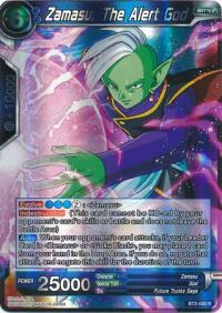dragonball super card game bt2 union force zamasu the alert god br2 056 r