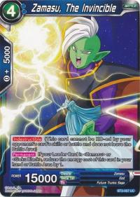 dragonball super card game bt2 union force zamasu the invincible bt2 057 uc