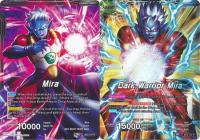 dragonball super card game bt3 cross worlds dark warrior mira bt3 107