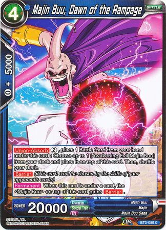 Majin Buu, Dawn of the Rampage BT3-050