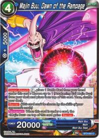 dragonball super card game bt3 cross worlds majin buu dawn of the rampage bt3 050