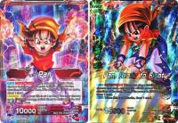 dragonball super card game bt3 cross worlds pan ready to fight bt3 001