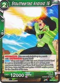 dragonball super card game bt3 cross worlds stouthearted android 16 bt3 068