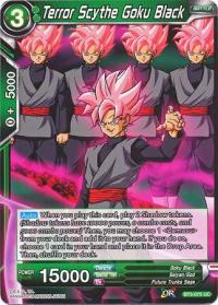 dragonball super card game bt3 cross worlds terror scythe goku black bt3 075
