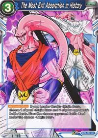 dragonball super card game bt3 cross worlds the most evil absorption in history bt3 052