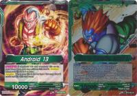 dragonball super card game bt3 cross worlds thirst for destruction android 13 bt3 056