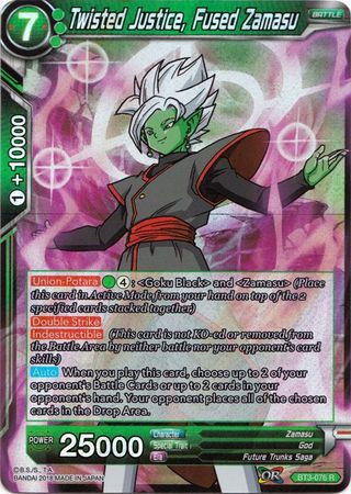 Twisted Justice, Fused Zamasu BT3-076