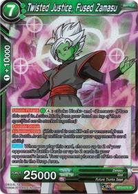 dragonball super card game bt3 cross worlds twisted justice fused zamasu bt3 076