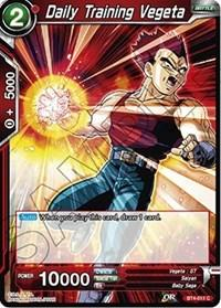 dragonball super card game bt4 colossal warfare daily training vegeta bt4 011