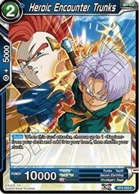 dragonball super card game bt4 colossal warfare heroic encounter trunks bt4 033