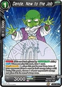 dragonball super card game bt5 miraculous revival dende new to the job bt5 109 foil