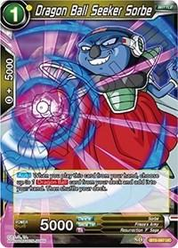 dragonball super card game bt5 miraculous revival dragon ball seeker sorbe bt5 097