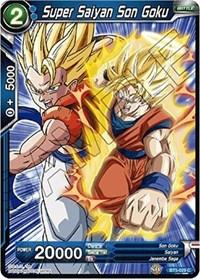 dragonball super card game bt5 miraculous revival super saiyan son goku blue bt5 029