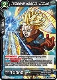 dragonball super card game bt5 miraculous revival temporal rescue trunks bt5 114